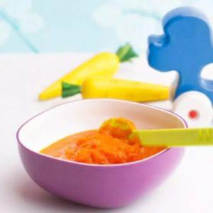Purée de carotte à l'œuf